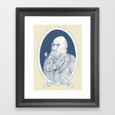 By Darwin's Beard Framed Art Print