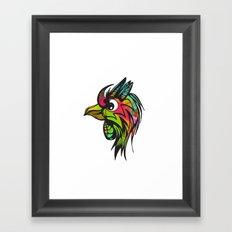 Bird of Prey Framed Art Print