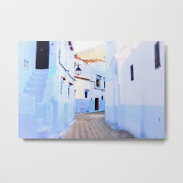 The Enchanting Blue City of Chefchaouen, Morocco Metal Print