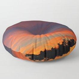 The Sunrise of Dreams Floor Pillow