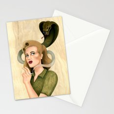 Cause of Death Stationery Cards