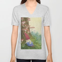 The Sleeping Gnome Unisex V-Neck