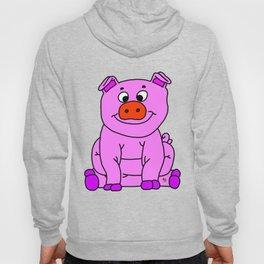 Wide-eyed Piggy Hoody