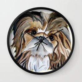 Pekingese Dog Love Dogs Wall Clock