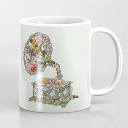 Seeing Sound Vintage Botanical Coffee Mug