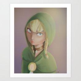 Linkle - Hyrule Warriors Art Print