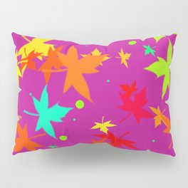 Forever Autumn Leaves purple 4 Pillow Sham