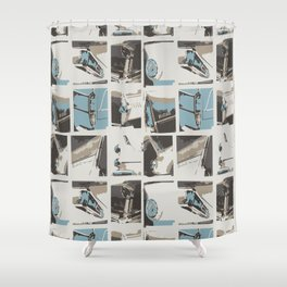 Headlights Shower Curtain