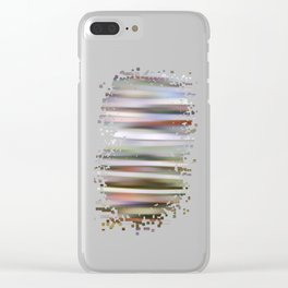color bathing Clear iPhone Case