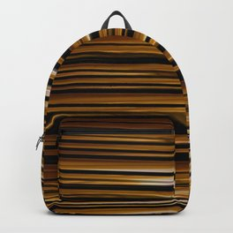 SCOTCH whiskey wood slats with shadows Backpack