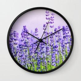 Lavender 15 Wall Clock