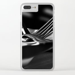 Forks Clear iPhone Case