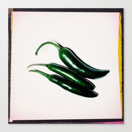 Hot (Peppers) Canvas Print