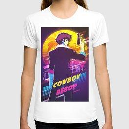 cowboy bebop retro T-shirt