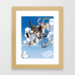 Falling to you Framed Art Print