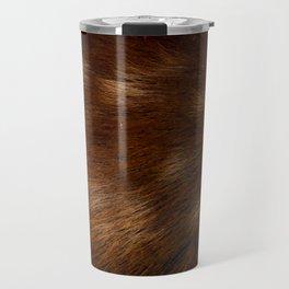 Deer Fur Travel Mug