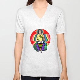 The Num Nums - Bobby Djembe Unisex V-Neck