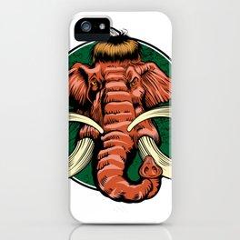 mammoth head iPhone Case