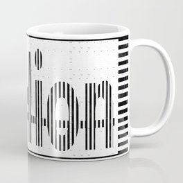 Fashion B and W Coffee Mug