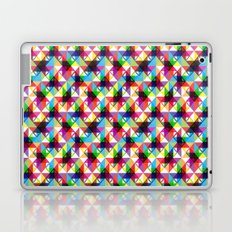 Abstract blocks pattern Laptop & iPad Skin