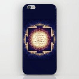 Sri Yantra IX iPhone Skin