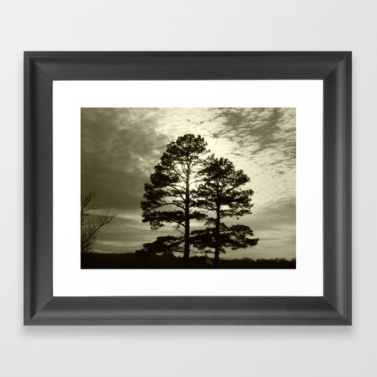 sunset III Framed Art Print