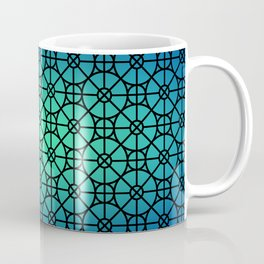 Morocco Pattern Blue Coffee Mug