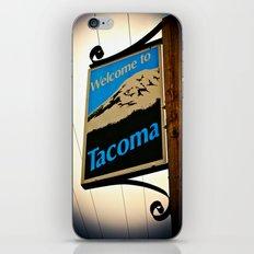 Welcome to Tacoma iPhone & iPod Skin