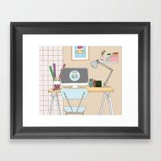 workplace Framed Art Print