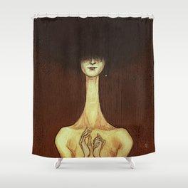 La Femme Fatale Shower Curtain