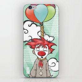 the punch-line iPhone Skin