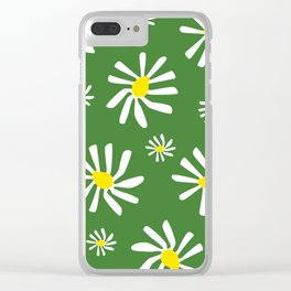 Daisy Doo Green Clear iPhone Case