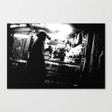 The Shop Canvas Print