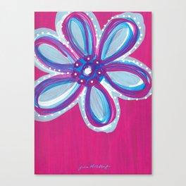Dark Pink  Canvas Print