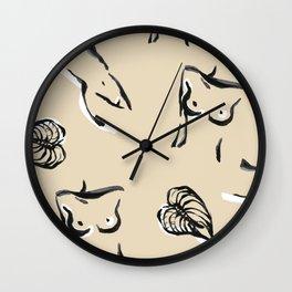 une femme Wall Clock