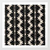 navajo Art Prints featuring NAVAJO by bows & arrows