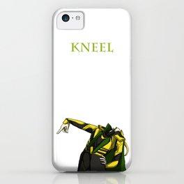 loki-kneel iPhone Case