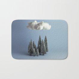 A cloud over the forest Bath Mat