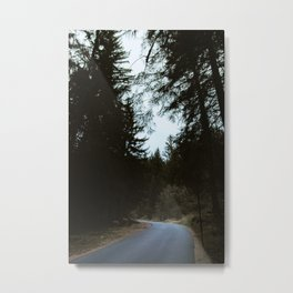 On the Road | Nature and Landscape Photography Metal Print
