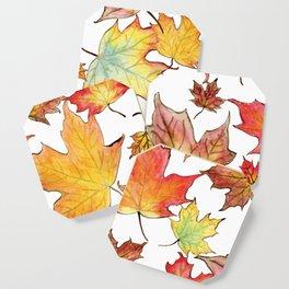 Autumn Maple Leaves Coaster