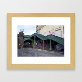 Stairs Glasgow Framed Art Print