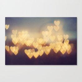 Bright New Love Canvas Print