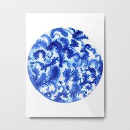 Blue culture Metal Print