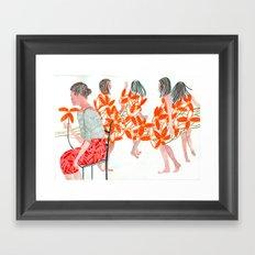 THE DANCERS Framed Art Print