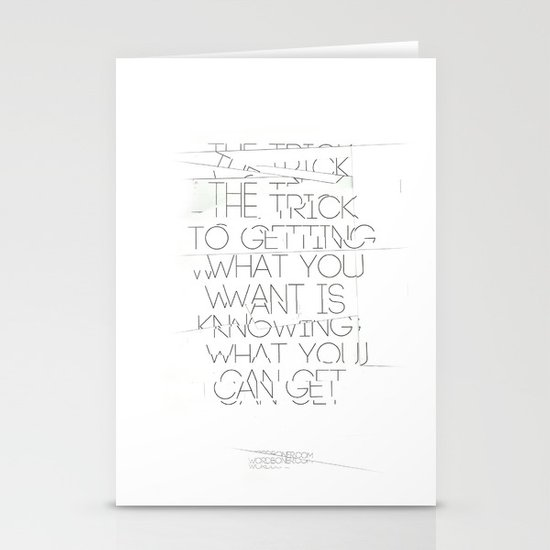 The Trick Stationery Cards