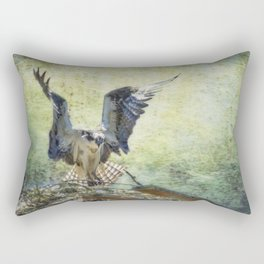 Wings Like an Angel Rectangular Pillow