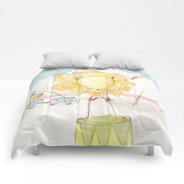 Step Right Up - Leggy Lion Comforters