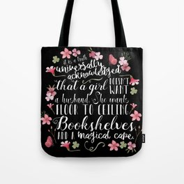 Truth Universally Acknowledged Tote Bag