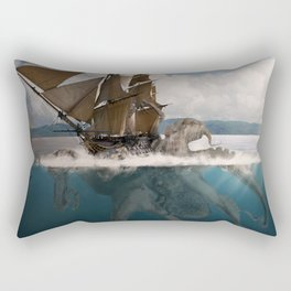 Great Giant Of The Sea Rectangular Pillow