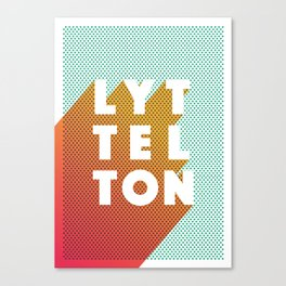 Lyttelton Dots Canvas Print